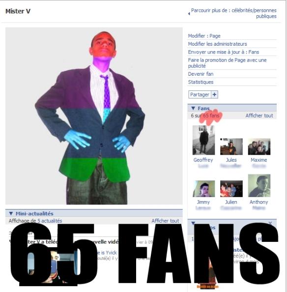65 fans !